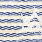 Foutfouta Trousse hammam tissu fouta bleu majorelle 2