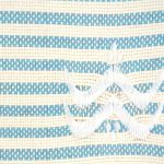 Foutfouta Trousse hammam tissu fouta bleu turquoise 2