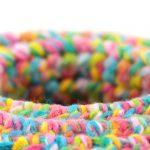 Bisofa – Panier en crochet multicolore 5