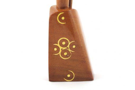 Mikhalla Souiria – Flacon khol d'Essaouira en bois – A motifs 2
