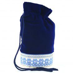 moulat el taguiya trousse de toilette orientale artisanale bleue 1