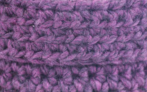 Bisofa – Paniers en laine violets 2