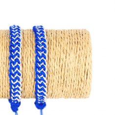 sablij bracelet marocain bracelet passementerie bracelet bleu bracelet argenté 2