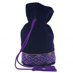 Moulat El Banda Bourse marocaine trousse de toilette violette trousse marocaine trousse de toilette marocaine violet vif 1