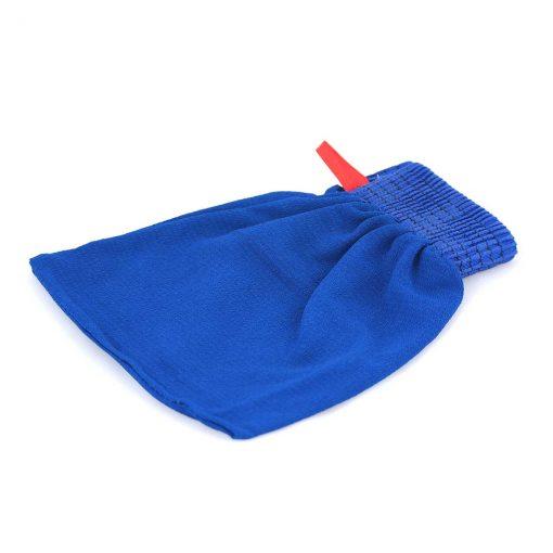 Kyskessa – Gant de kessa marocain bleu 1