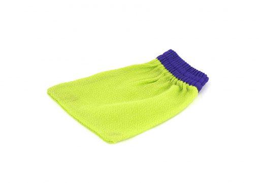kyskessa gant de kessa marocain gant vert violet gant gommage gant marocain 1