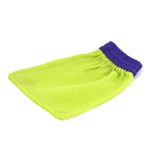 Kyskessa – Gant de kessa marocain vert et violet 1