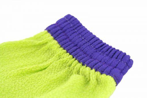 kyskessa gant de kessa marocain gant vert violet gant gommage gant marocain 2