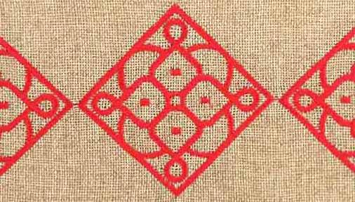 matrouza grande trousse andalouse rouge trousse jute trousse brodée trousse de toilette maroc 2