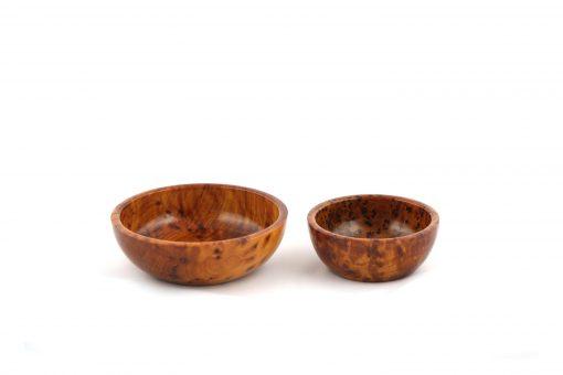 bol en bois de thuya bol essaouira bol en thuya 1