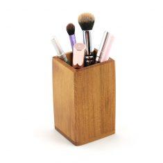 pot à pinceaux en bois pot à pinceau pot à crayons en bois 1