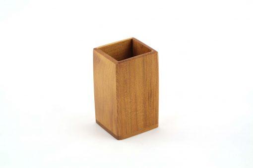 pot à pinceaux en bois pot à pinceau pot à crayons en bois 2