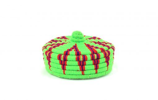 Aryal – Petit panier berbère vert Amezyan 1