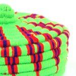 Aryal – Petit panier berbère vert Amezyan 2