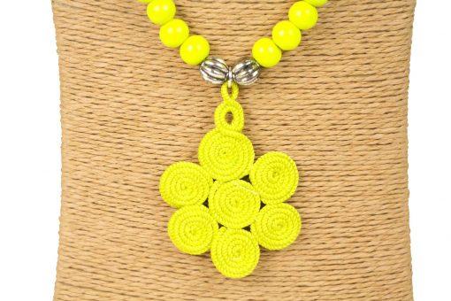 sautoir à perles en bois collier à perles en bois sautoir perles bois sautoir perles jaune