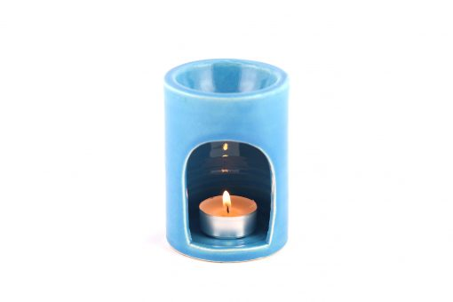 Damya – Brûle parfum céramique bleu