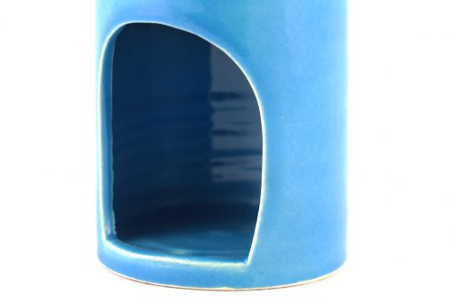 Damya – Brûle parfum céramique bleu 2