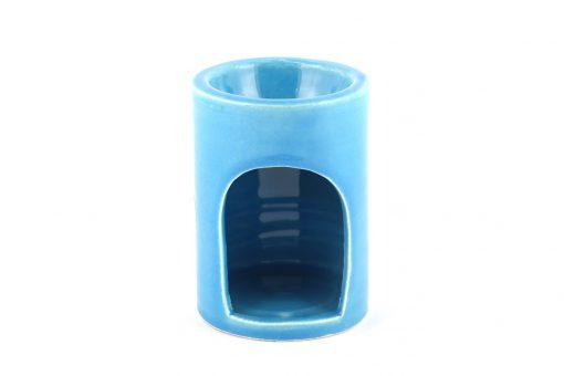 Damya – Brûle parfum céramique bleu 3