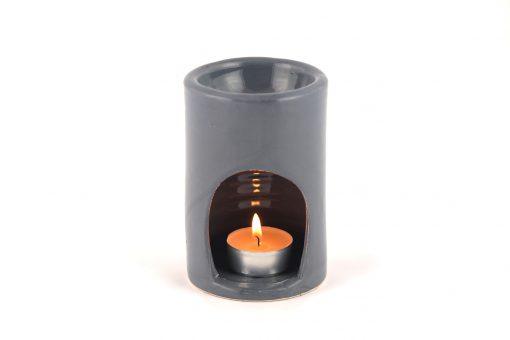 Damya – Brûle parfum céramique gris