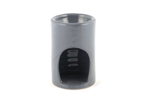 Damya – Brûle parfum céramique gris 3