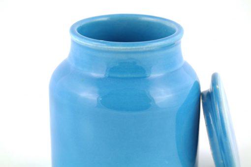 Damya – Grande boîte céramique bleu 2