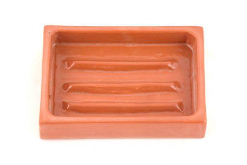 Damya – Porte-savon céramique naturel 2