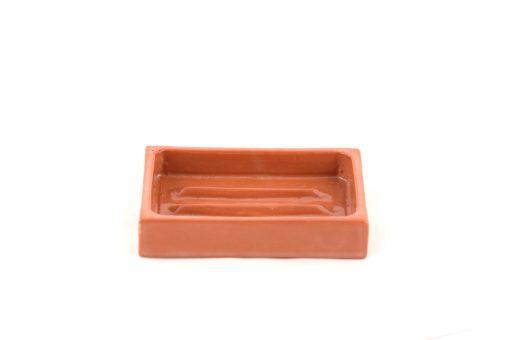 Damya – Porte-savon céramique naturel 1