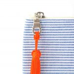 Illayal – Grande trousse à soufflet marine orange 3