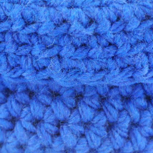 Bisofa – Paniers en laine bleu foncé 2