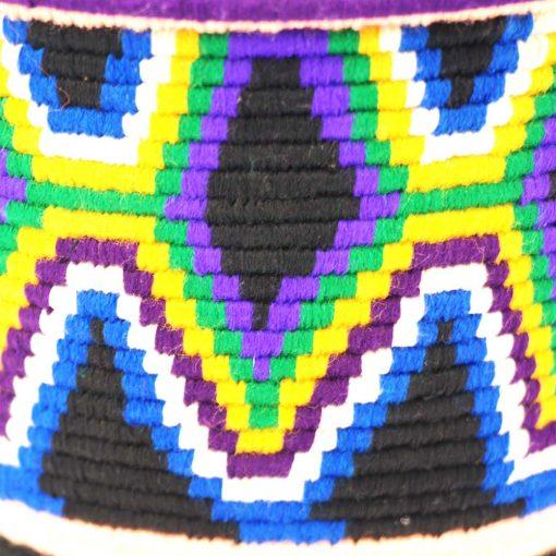 Aryal – Panier berbère violet Tekna 3