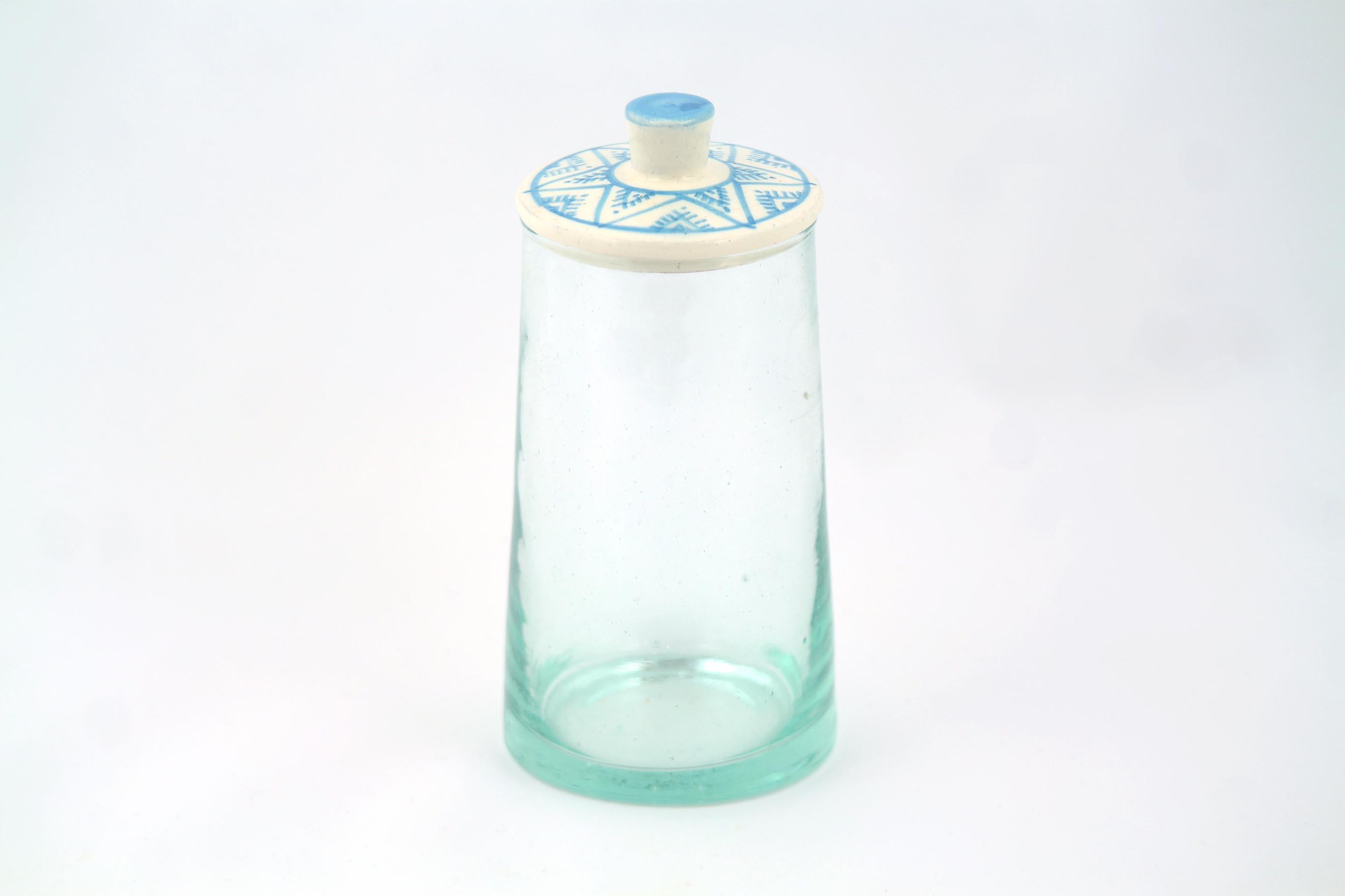 Babeldi pot en verre marocain couvercle c ramique - Ikea pot en verre ...