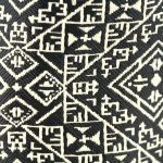 El Fassia – Trousse marocaine brodée noire – 1