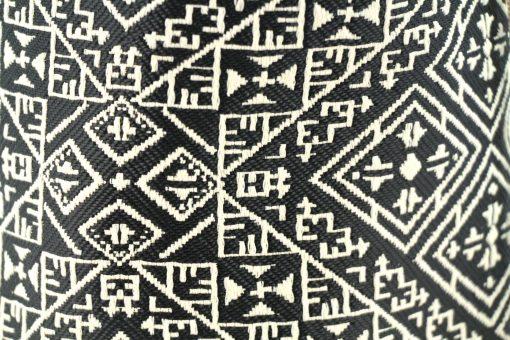 el fassia trousse marocaine brodée noire bourse trousse de toilette