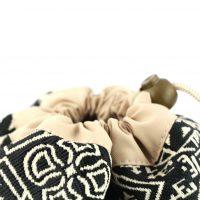 El Fassia – Trousse marocaine brodée noire – 2