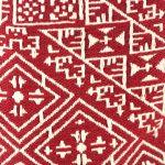 El Fassia – Trousse marocaine brodée rouge – 1