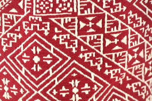 el fassia trousse marocaine brodée rouge bourse tarz el fassi tarz el ghorza