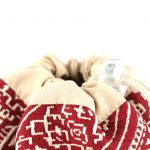 El Fassia – Trousse marocaine brodée rouge – 2