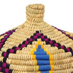 panier naturel grand panier berbère naturel panier laine panier marocain