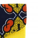 Timbuktu Pochette Wax Jaune et jute #1