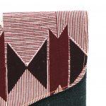 Timbuktu Pochette Wax Noire et jute #1