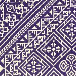 El Fassia – Trousse marocaine brodée – Détail
